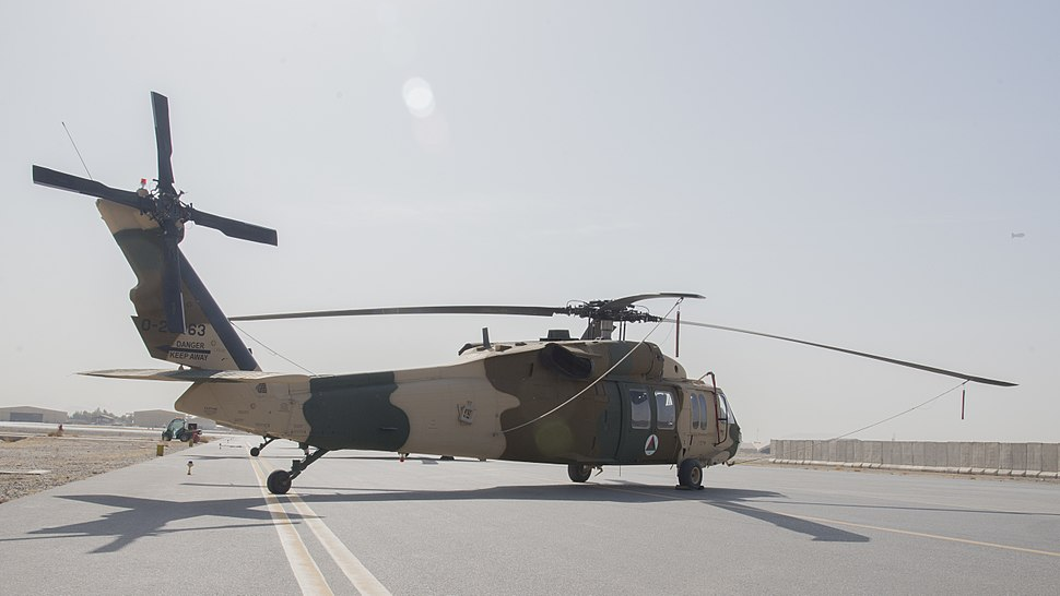 Afghan Air Force UH-60 Kandahar Air Wing, Afghanistan