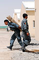 Afghan National Police Prepare Joint Regional Police Center (4837498617).jpg