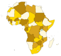 African countries 2013.png