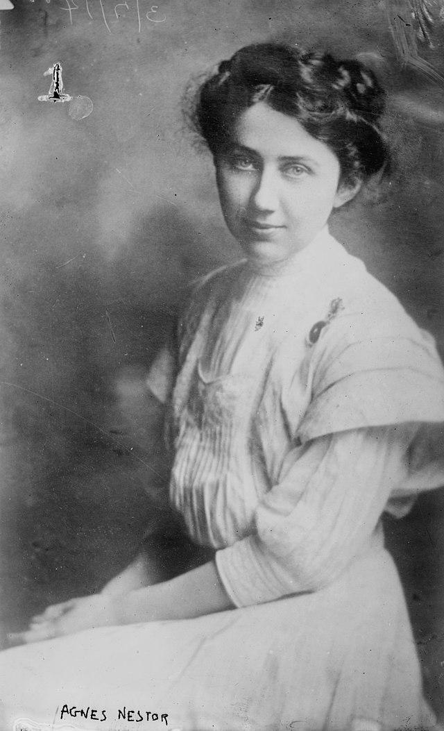 Potrait of Agnes Nestor