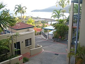 Le village d'Airlie Beach