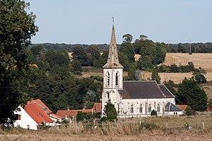Airon-Saint-Vaast - The church of Airon-Saint-Vaast