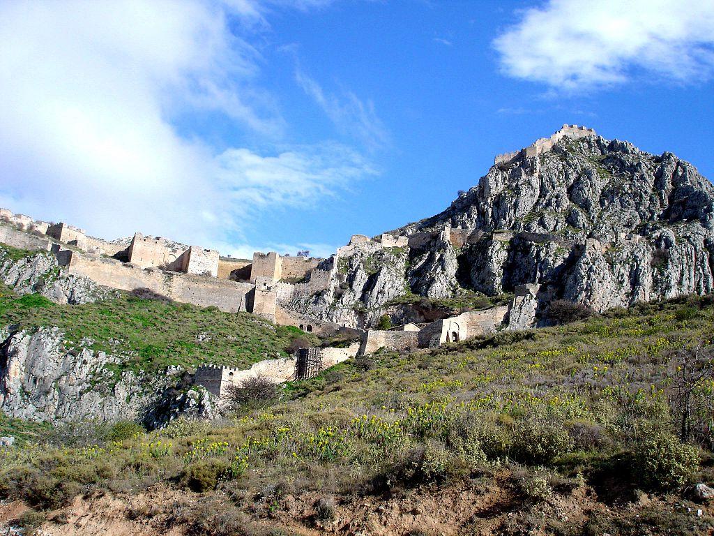 Akrokorinth nordmauern