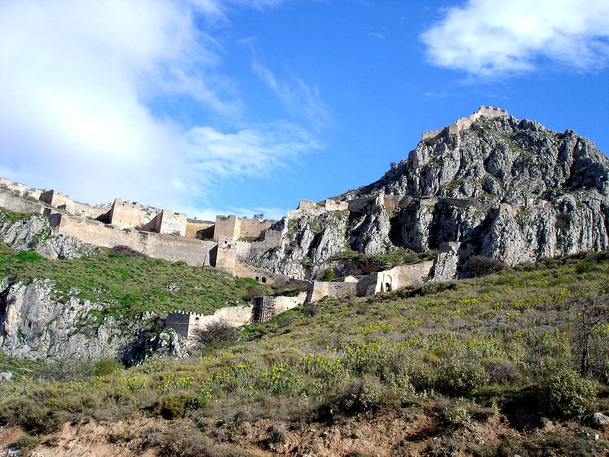 Acrocorinth - Wikipedia