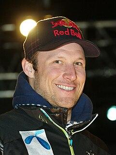 Aksel Lund Svindal Norwegian alpine skier