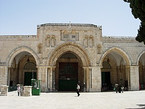 Temple Mount - Facade of the Al-Aqsa Mosque