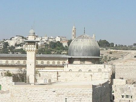 المسجد الأقصى.