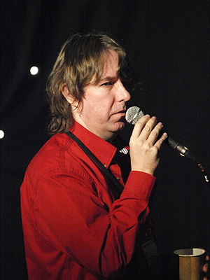 Alastair Reynolds - Alastair Reynolds at Eastercon in 2010