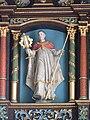 Alberskirch Kapelle Seitenaltar rechts Heiliger mit Monstranz.jpg