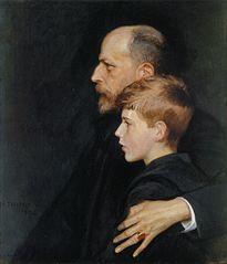 Portrait of Pietro and Mario Krohn