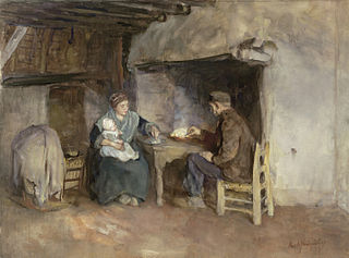 A Peasant Family at Lunch