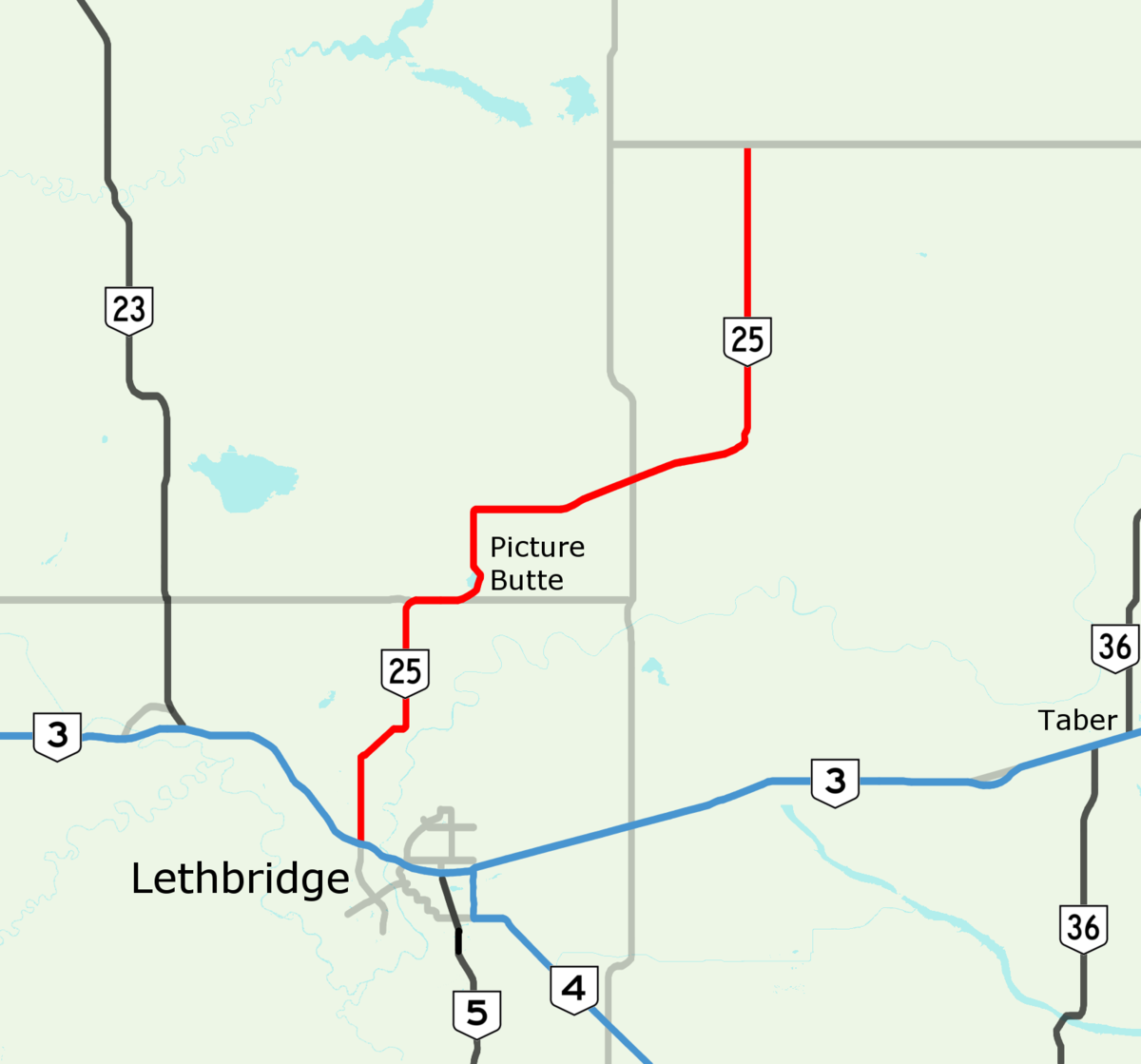 Alberta Highway 25 Wikipedia