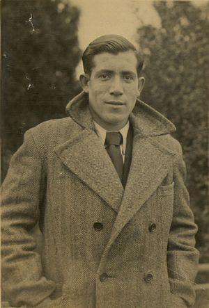 Alberto Errera - Photograph of Alberto Errera from the collection of the Jewish Museum of Greece