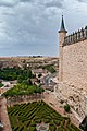 Alcázar de Segovia y jardines.jpg