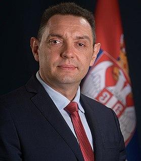 Aleksandar Vulin Serbian politician and lawyer