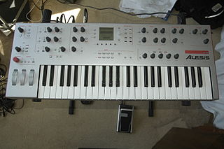 Alesis Ion digital analog modeling synthesizer