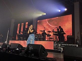 Alessia Cara - Cara performing in Sydney, Australia in 2018.