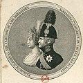 Alexander I with wife by Kudrekov (1800s) 2.jpg