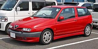 Alfa Romeo 145 and 146 Small family cars produced by Alfa Romeo