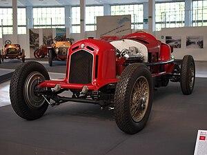 Alfa Romeo Tipo A - Alfa Romeo Gran Premio Tipo A 1931