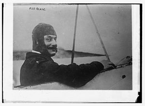 Alfred Leblanc - Image: Alfred Leblanc in the cockpit (ca. 1915)