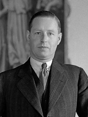 Alidius Tjarda van Starkenborgh Stachouwer - Tjarda van Starkenborgh Stachouwer in 1935