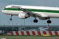 I-BIXK - A321 - Alitalia