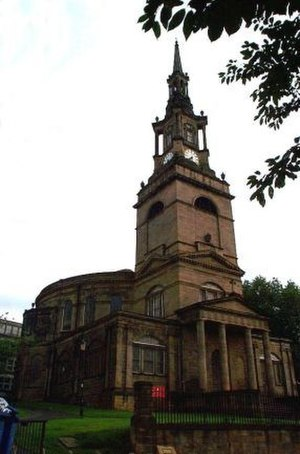 All Saints' Church, Newcastle upon Tyne - Image: All Saints Church, Newcastle upon Tyne geograph.org.uk 245218