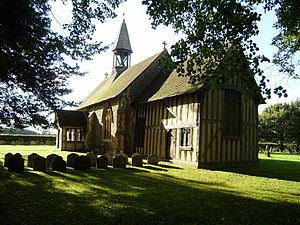 Crowfield, Suffolk - All Saints Church
