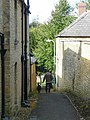 Alleyway leading off West Street - geograph.org.uk - 989762.jpg