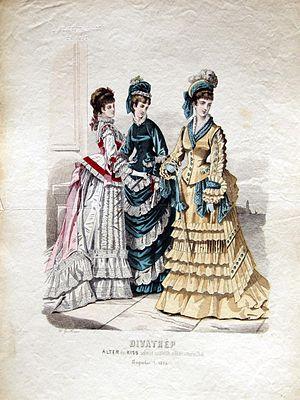 Alter és Kiss -  August 1874; Alter és Kiss Fashions