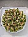 Amazing syrian sweet qadifa pistachio.jpg
