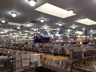 Amoeba Music - Inside of Amoeba Music in San Francisco in 2011