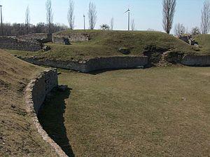 Carnuntum - Remains in Carnuntum - amphitheatre