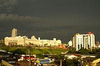 Shopping Anália Franco e o Hospital Vitória