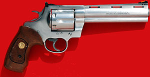 Hunting weapon - .44 Magnum Colt Anaconda