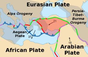 Anatolian Plate - Image: Anatolian Plate