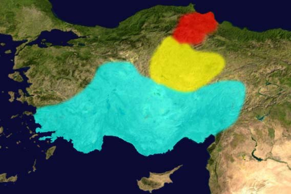 Anatolian Languages in 2nd millennium BC