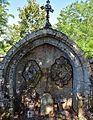 Ancien portail roman église Saint-Christophe Montferrand (cimetière).jpg
