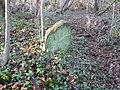 Ancient boundary marker, Weston Big Wood - geograph.org.uk - 1070812.jpg