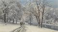 Anders Andersen-Lundby - Vinterdag i den engelske have i München - 1884.png