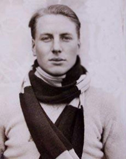 Andrew Ivine, part of the 1924 Everest Expedition. AndrewIrvine.jpg