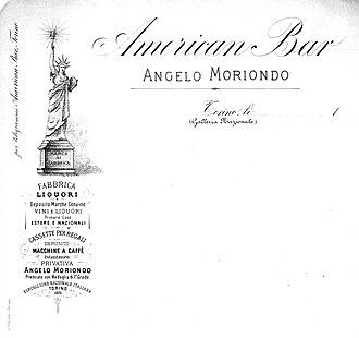 Angelo Moriondo - American Bar in Galleria Nazionale
