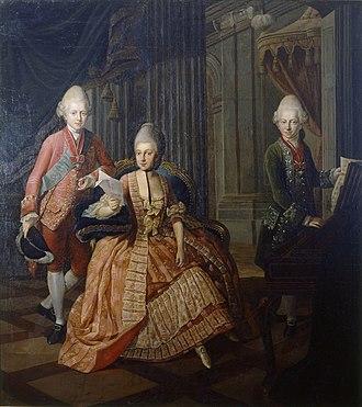 Anna Rosina de Gasc - Image: Anna Amalia von Braunschweig Wolfenbuettel 1773 74