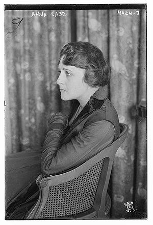 Anna Case - Anna Case in 1917