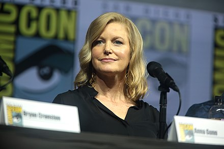 Actress Anna Gunn moved to Santa Fe from Oklahoma during her childhood. Anna Gunn (42886671084).jpg