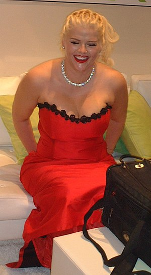Anna Nicole Smith - Smith in May 2003