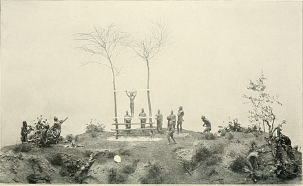 "Miniature model of the Morning Star ritual, Field Museum Annual report of the Director to the Board of Trustees for the year ..."" (1907-1943) (19176154258).jpg"
