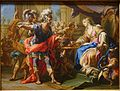 Anthony and Cleopatra, by Andrea Casali, Rome, late 1720s, oil on canvas - Blanton Museum of Art - Austin, Texas - DSC07995.jpg