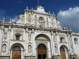 Former San José Cathedral of Antigua